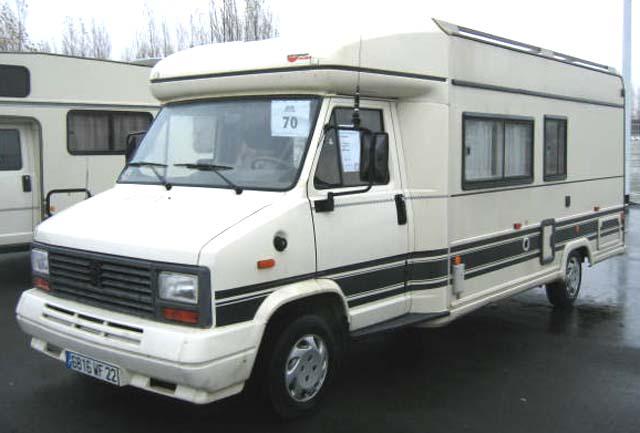 camping car burstner t620 profile 25 l 25 l 1990. Black Bedroom Furniture Sets. Home Design Ideas