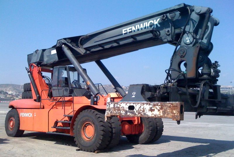 chariot elevateur fenwick c4130tl4 41000 kg. Black Bedroom Furniture Sets. Home Design Ideas