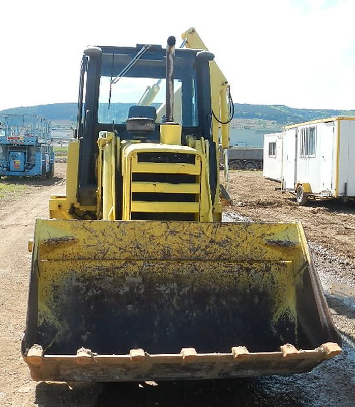 TRACTOPELLE A CHENILLES JOHN DEERE 555