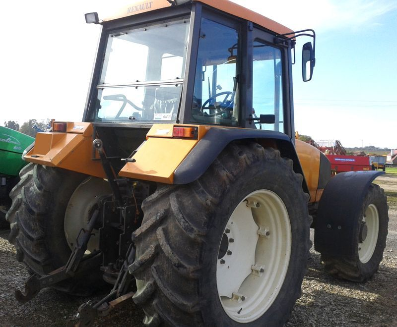 tracteur agricole renault temis 610x 4x4 2004. Black Bedroom Furniture Sets. Home Design Ideas