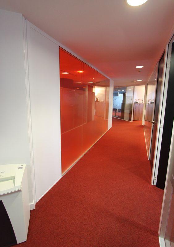 cloisons matfor environ 210 metres lineaires de cloisons. Black Bedroom Furniture Sets. Home Design Ideas