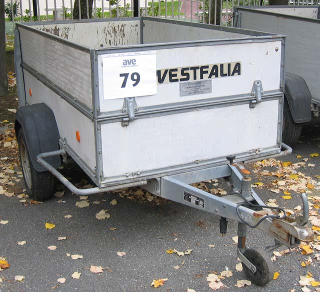 remorque westfalia werke 500 kg 500 kg. Black Bedroom Furniture Sets. Home Design Ideas