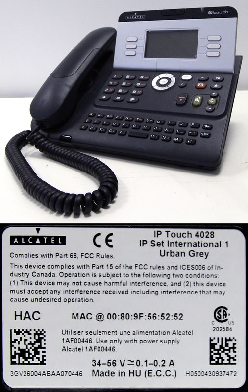 LOT 18. 35 TELEPHONES IP DE MARQUE ALCATEL-LUCENT MODELE 4028.