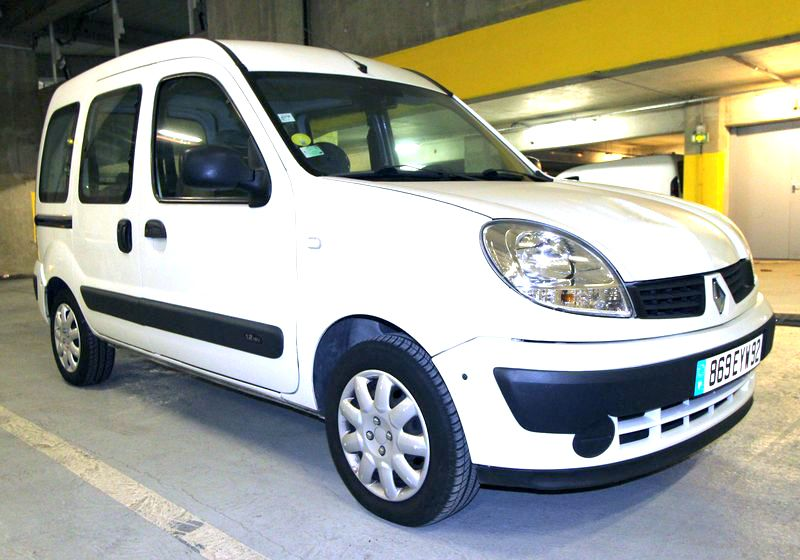 voiture renault kangoo 12i phase 2 2006. Black Bedroom Furniture Sets. Home Design Ideas