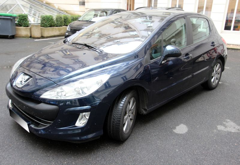 VOITURE PEUGEOT 308  HDI 1.6 2009