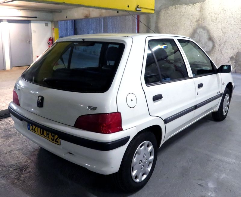 VOITURE PEUGEOT 106 1.4I INJECTION - PHASE 2 COLOR 2002