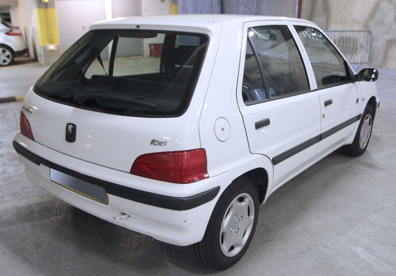 VOITURE PEUGEOT 106 PHASE 2 1.1I 1.1 INJECTION 1999